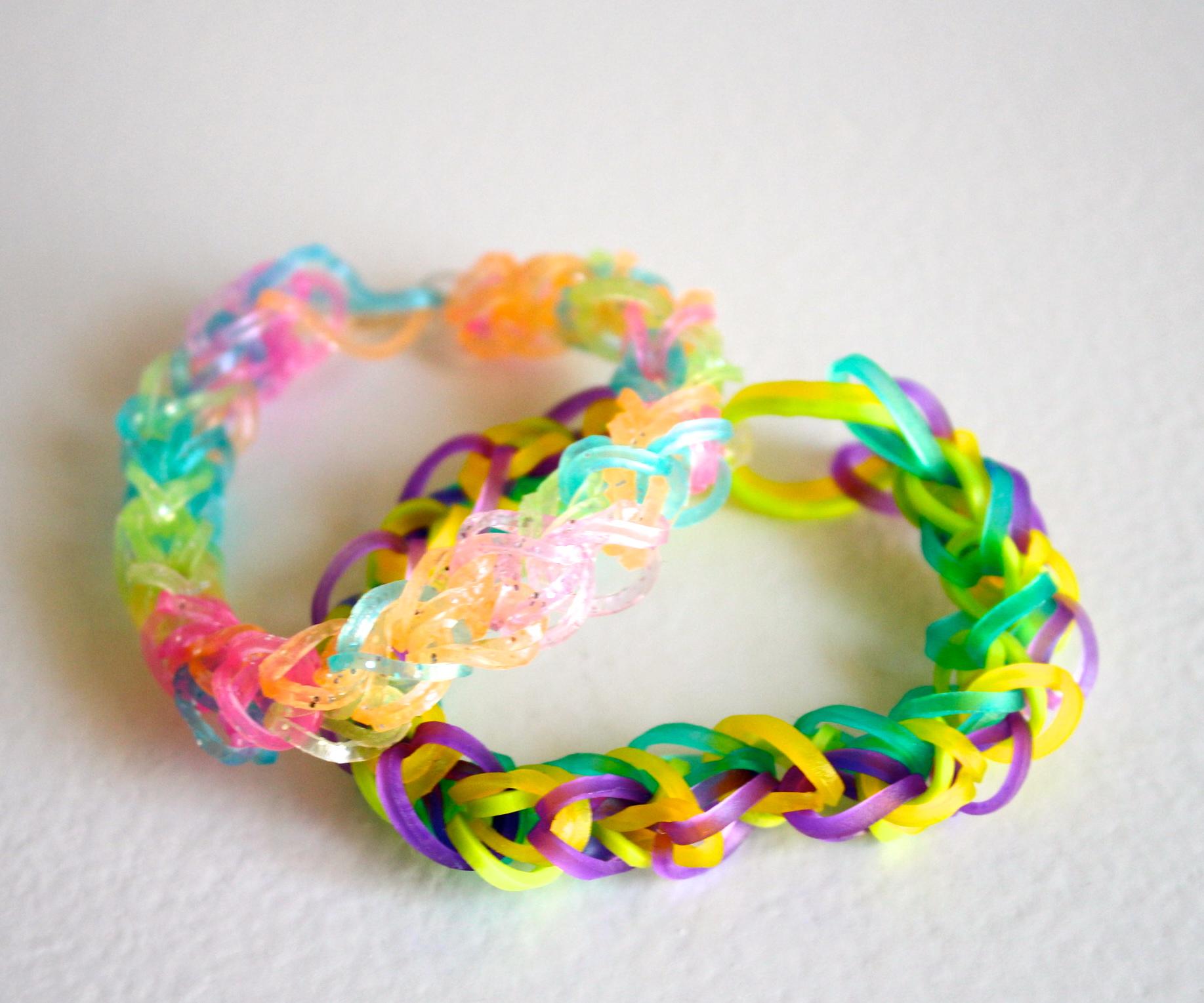Схемы плетения браслетов из резинок 380