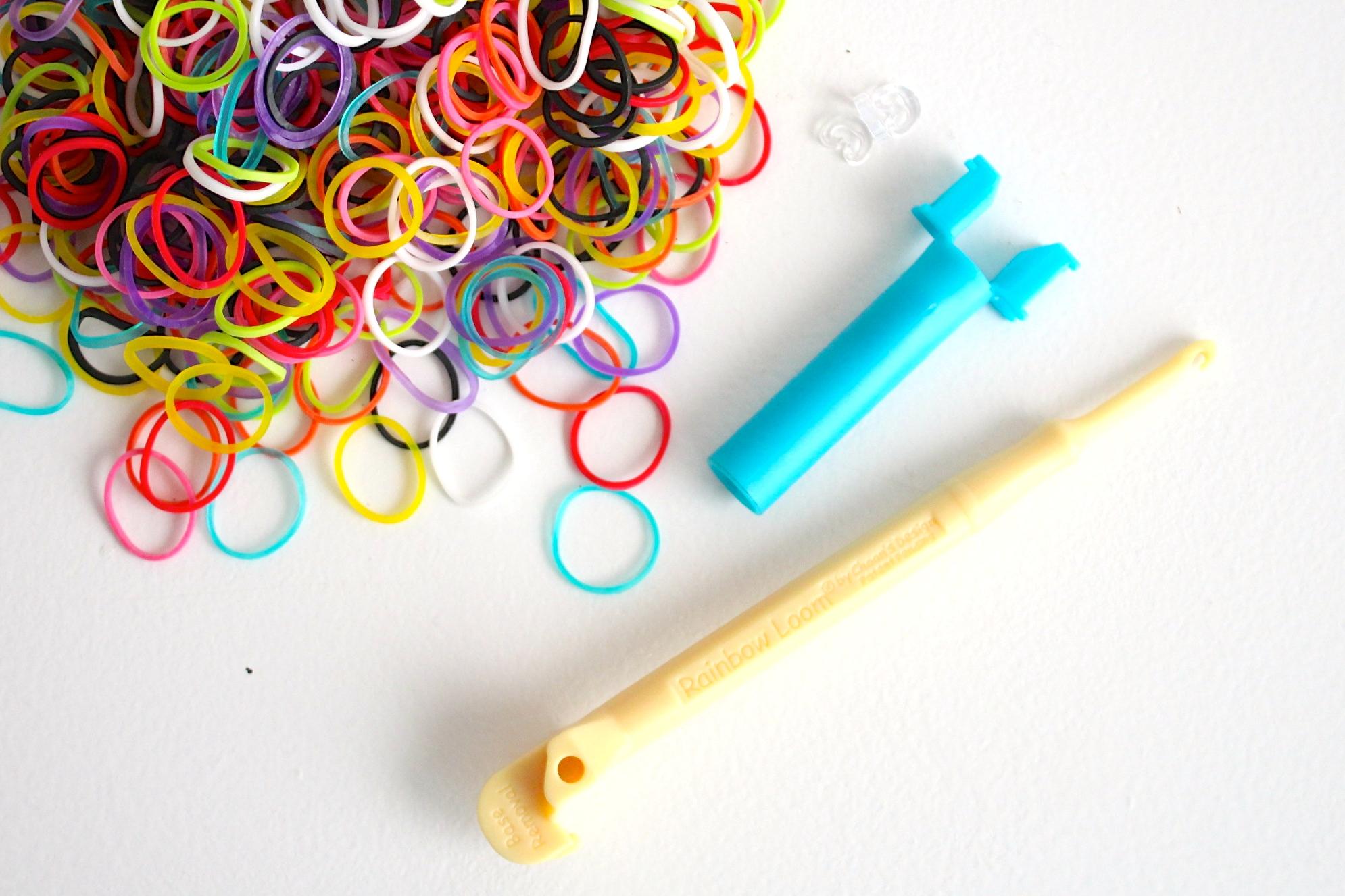 Плетение браслетов без резинок