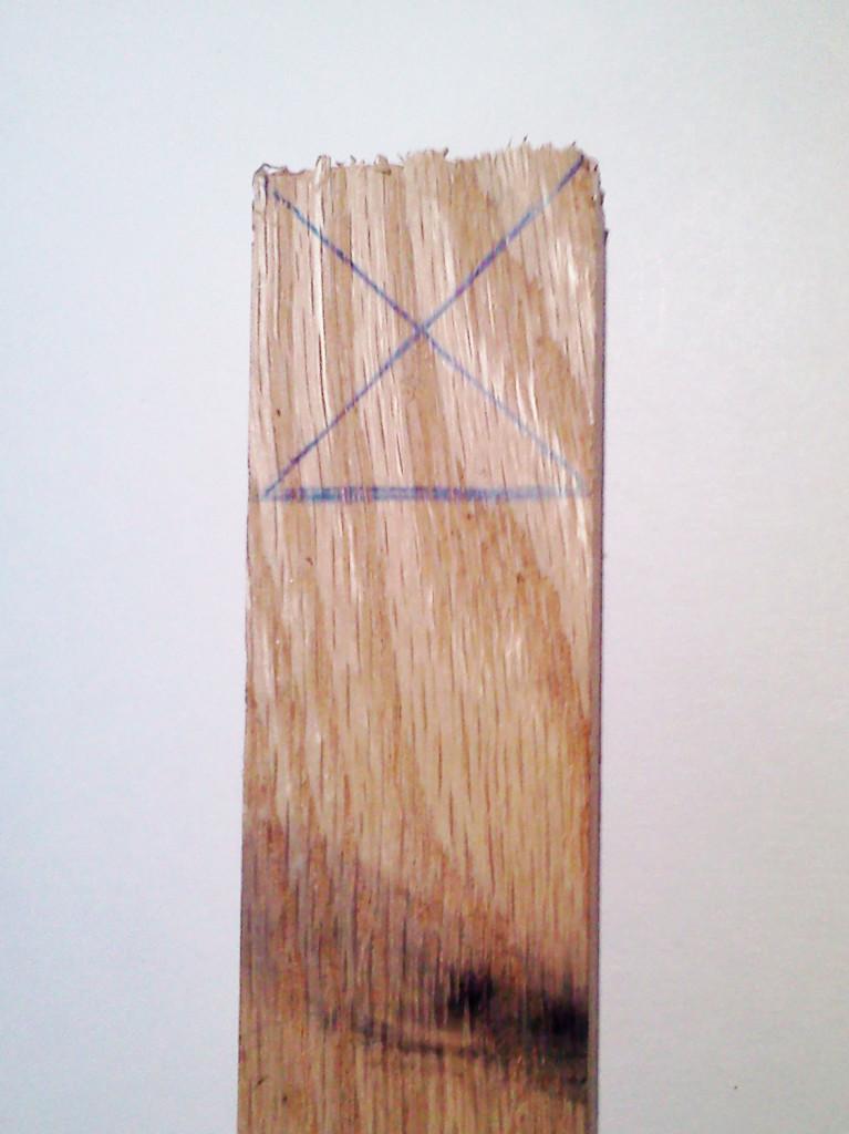 Размечаем деревяшку