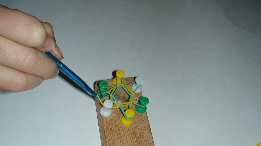 Схема плетения Гексафиш 4
