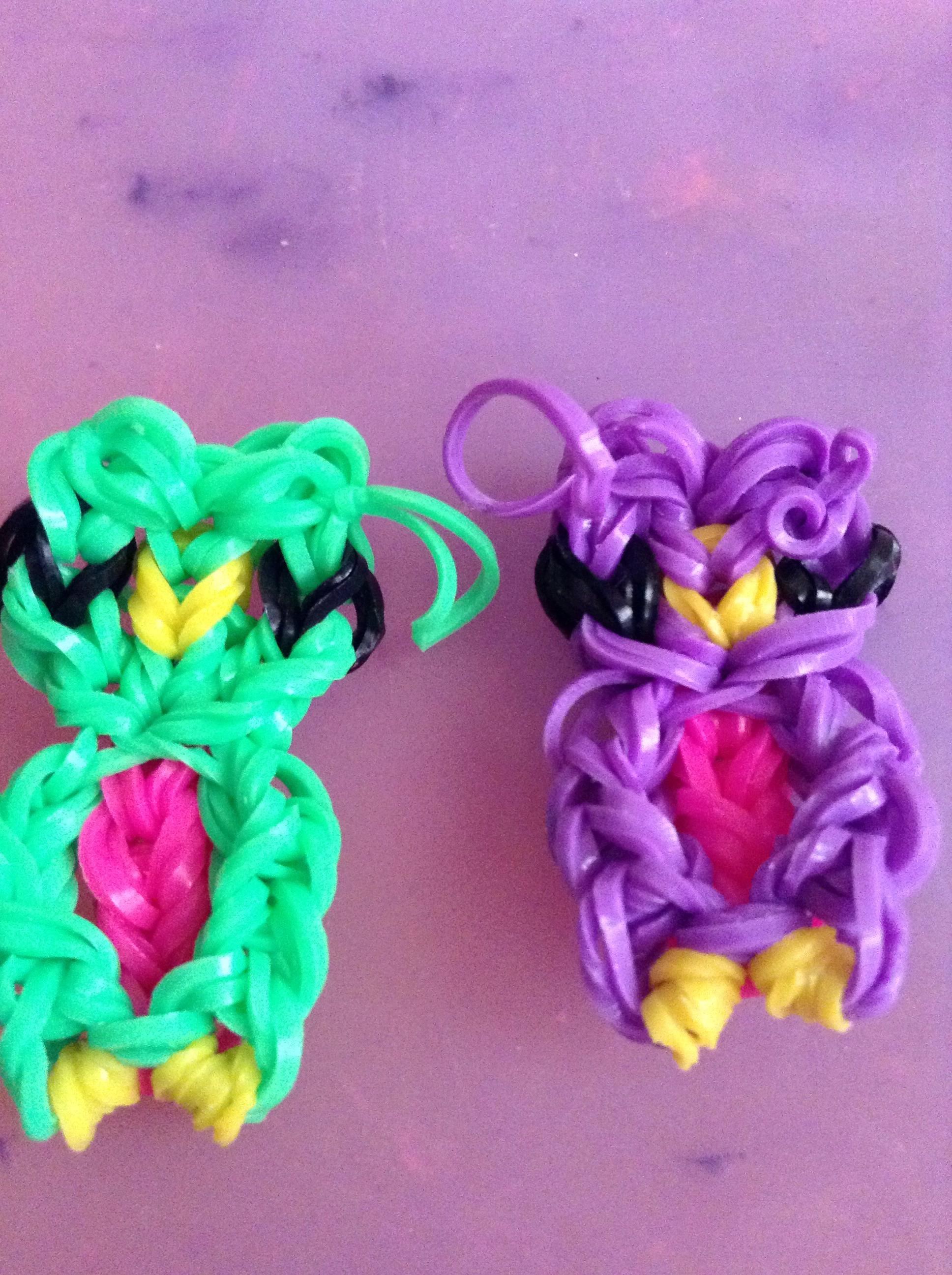 Плетение из резинок браслетов, игрушек, брелков 60