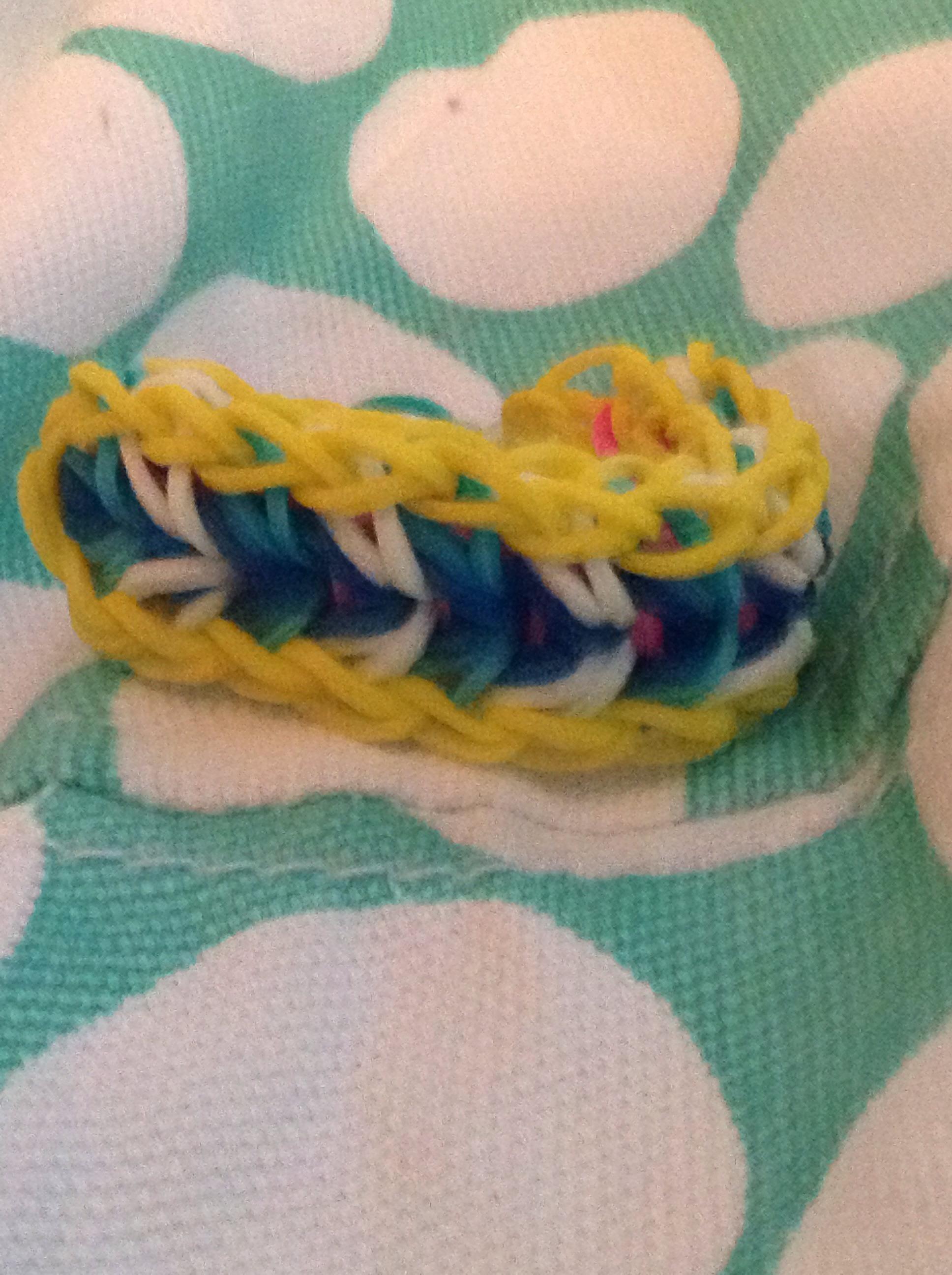 Плетение на вилках схема