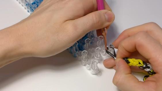 Схема плетения - оставьте заготовку в стороне