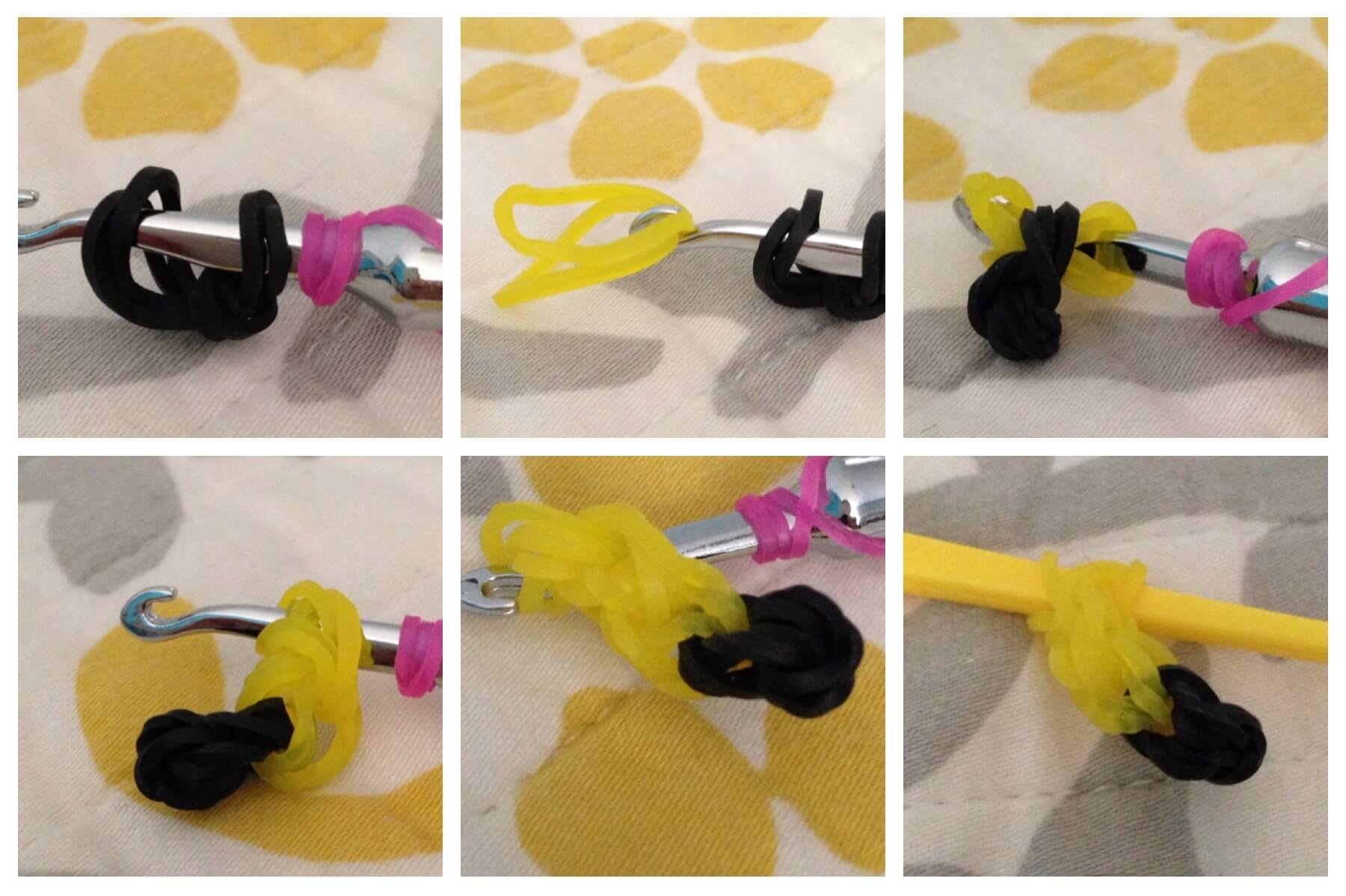 плетение фигурок из резинок на крючке схемы
