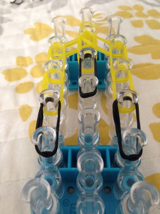 Схема плетения миньена - начинаем плести очки