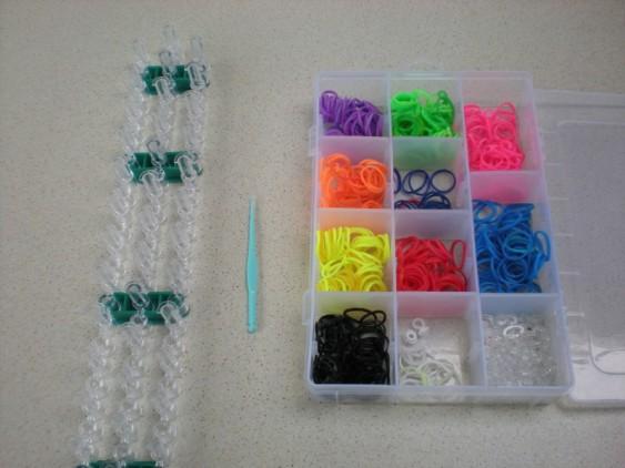Схема плетения черепашки на станке - что вам потребуется